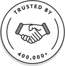 Trusted by 400,000+