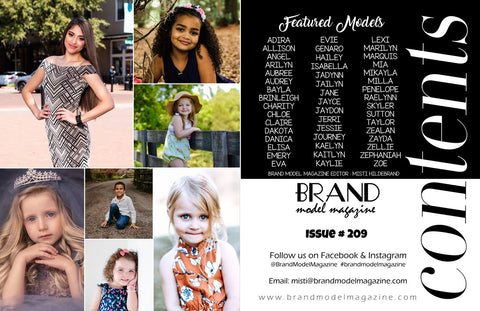 cover brand model magazine the enchanted wardrobe boutique