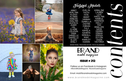 table of contents brand model magazine the enchanted wardrobe model