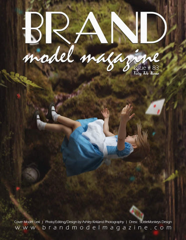 The enchanted wardrobe features in Brand Model Magazine