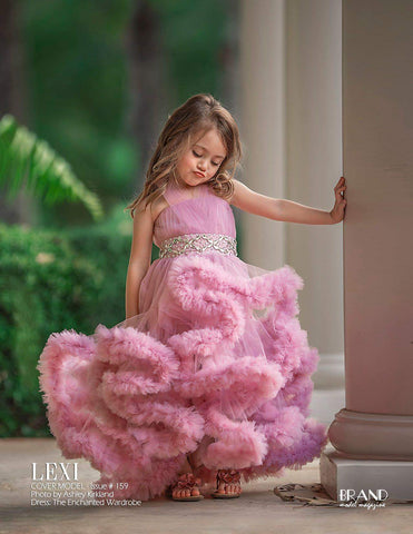 The enchanted wardrobe brand ambassador boutique girls boutique toddler magazine cover press media