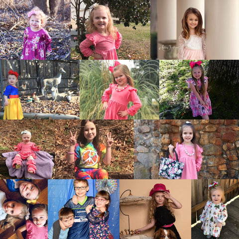 The enchanted wardrobe brand ambassador boutique girls boutique toddler magazine model