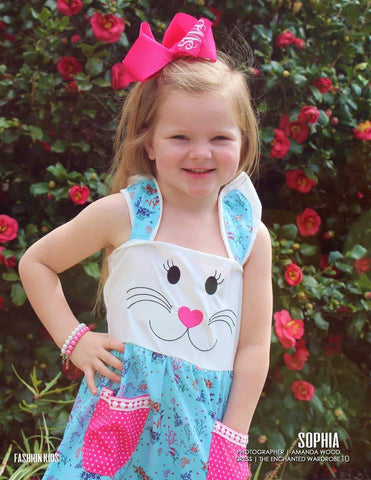 the enchanted wardrobe easter bunny boutique dress model press media