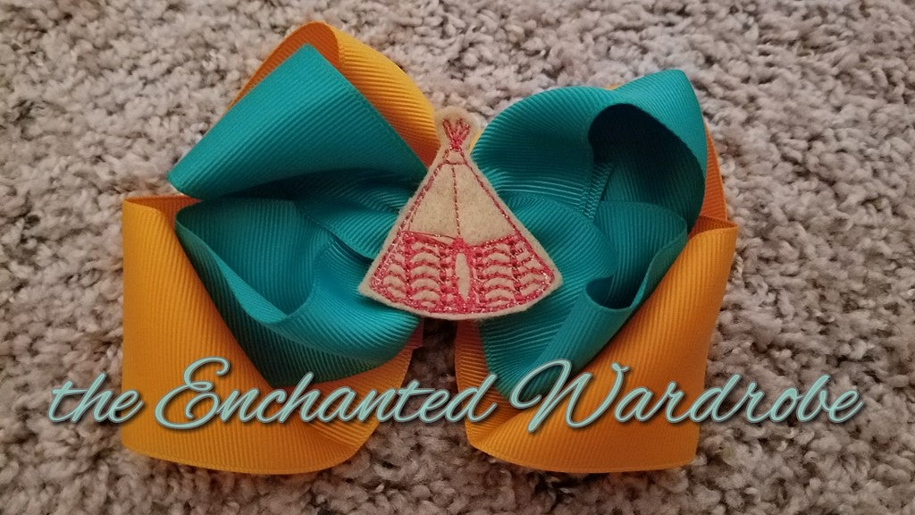 Tee Pee Bow - the Enchanted Wardrobe