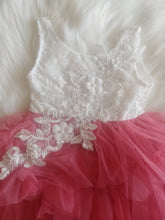 White Lace & Rose Pink Tutu - the Enchanted Wardrobe