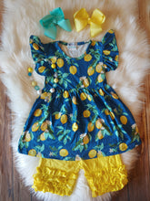 Lovely Lemon Ruffle Set - the Enchanted Wardrobe