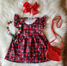 Snowflake Buffalo Plaid Pearl - the Enchanted Wardrobe