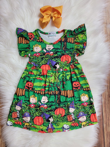 Great Pumpkin Pearl Dress - the Enchanted Wardrobe