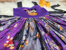 Not So Scary Halloween Panel Dress