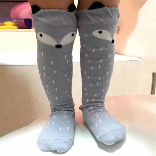 Fox Knee High Socks - the Enchanted Wardrobe