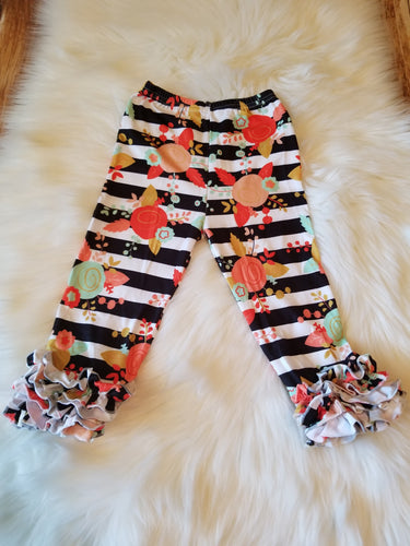 Floral & Stripe Icing Pants - the Enchanted Wardrobe