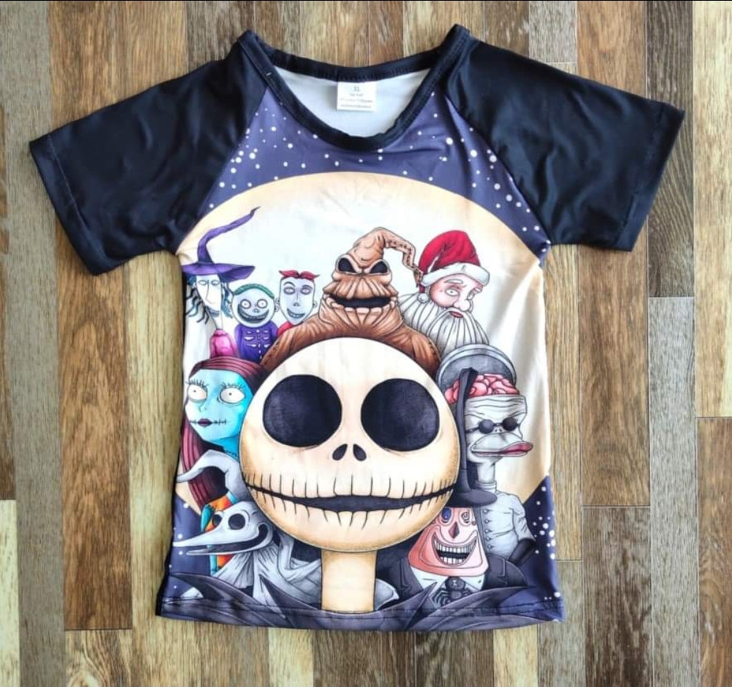 Nightmare Friends Unisex Raglan - the Enchanted Wardrobe