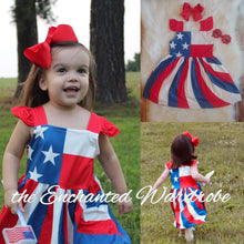 Stars & Stripes Twirl Dress - the Enchanted Wardrobe