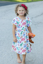 Floral Dino Pearl Dress - the Enchanted Wardrobe