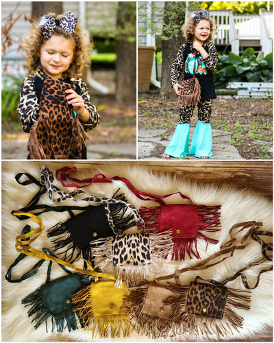 Fringe Toddler Purse - the Enchanted Wardrobe