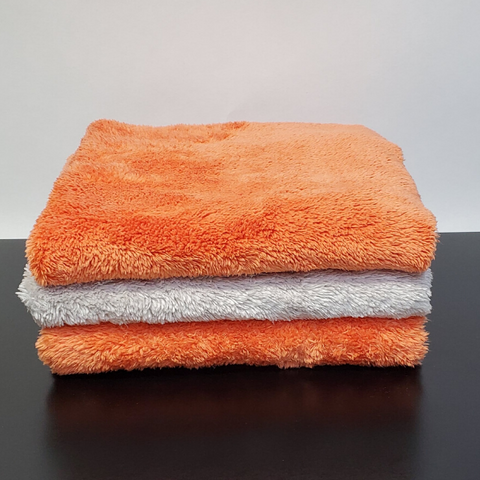The Last Microfiber Towel -  Orange