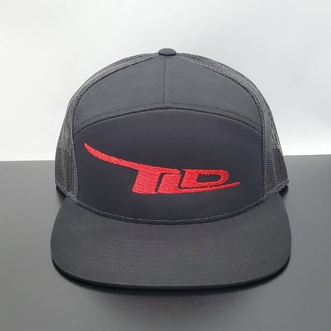 TLD Logo Snap-Back(Black)