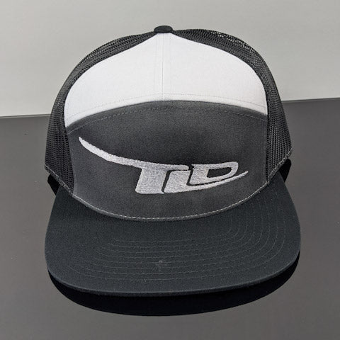 TLD Logo Snap-Back(Black/Grey/White- White Logo)