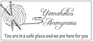 Yarnaholics Anonymous May 11, 2017
