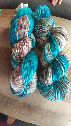Beauty and the Beach | Hand Dyed Yarn