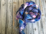 Spinning Fibre | Space | 4 oz Rambouillet/Tencel/Sparkle