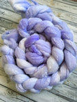 Spinning Fibre | Purple Fiction | 4 oz Rambouillet/Tencel