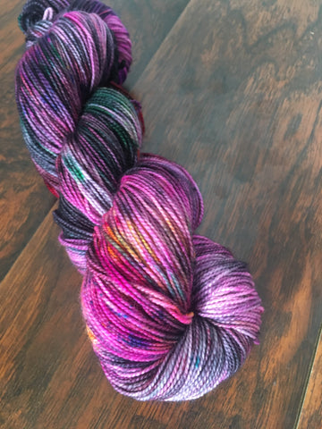 Look What You Made Me Do | Hand Dyed Yarn