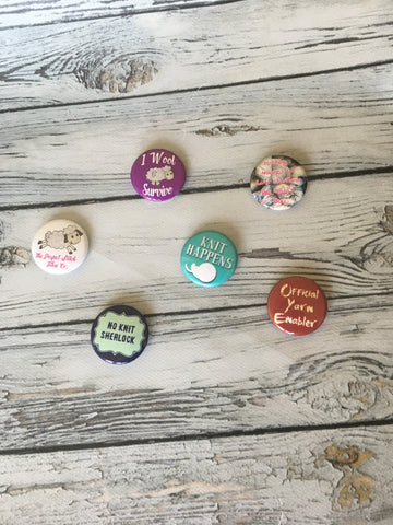 Knitting Buttons | pick your button | Knitting fun