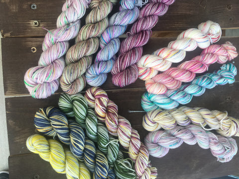 Wizard World Mini Set | Hand Dyed Yarn