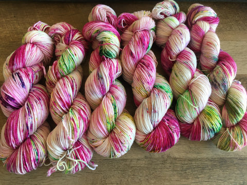 Rose | Hand Dyed Yarn