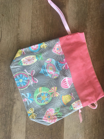 Sunshine and Bubble Gum Vintage Christmas Project Bag
