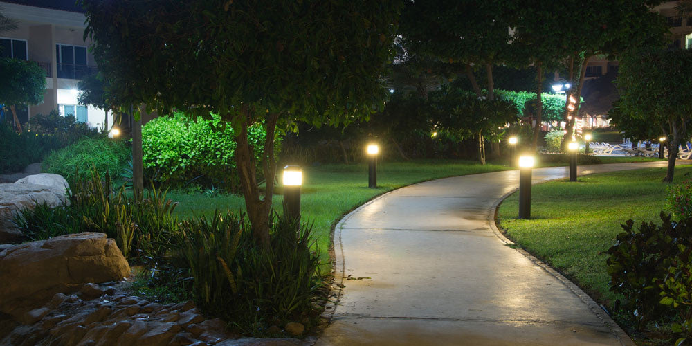 Solar Landscape Lighting in Canada