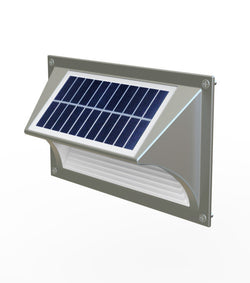 Solar light for stairs and walkways