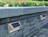 Example of solar light for steps and walkways