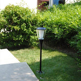 Example 1 of LED solar garden light for outdoor living and landscape