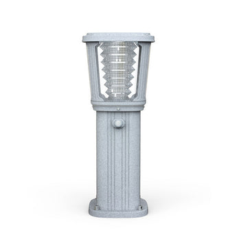 Strong and elegant solar light pole bollard main view
