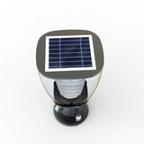 Elegant LED Solar Light Post or pillar for living area top view