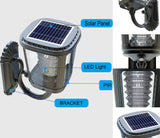 Wall mount solar light description