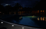 Example 3 of durable underground flush mount Solar LED Light for your pool deck