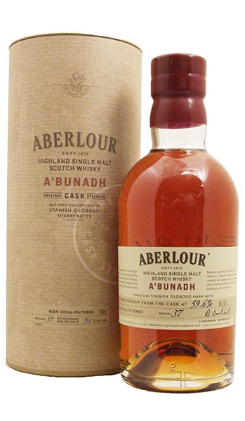 Aberlour A'bunadh Batch 58 Single Speyside Malt Whisky