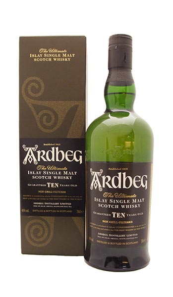 Ardbeg 10 Year Old Single Islay Malt Whisky