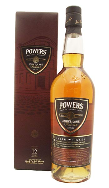 Powers John's Lane 12 Year Old Irish Whiskey