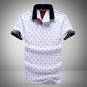 Men's Printed POLO Shirts 100% Cotton