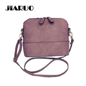 JIARUO Korean Retro Suede, Messenger, CrossBody Bag