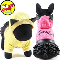 Petcircle leather dog dress