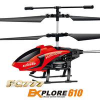 Professional RC Mini Helicopter 3.5CH 2.4GHz Mode 2 RTF Gyro FQ777