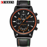 Relogio Masculino Curren Quartz Watch