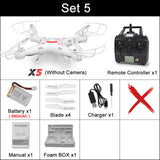 X5C RC Drone with 720P HD Camera Remote Control Quadcopter  2.4G or X5 Drones without camera