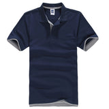 Men's Polo Shirt  Cotton Short Sleeve Plus Size XS- XXXL