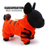 Petcircle cute tiger dog jumpsuits hoodies